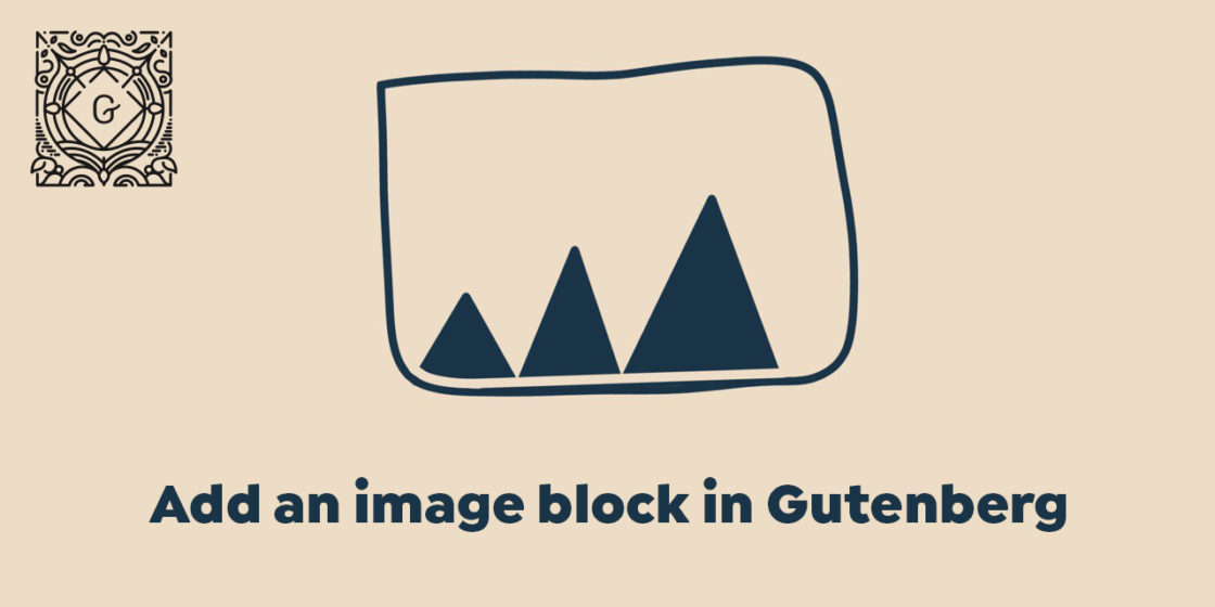 "Add ""Image"" Block in WordPress Gutenberg Page Builder"